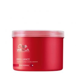 Masque Wella Brilliance - Cheveux Fins - 500 ml