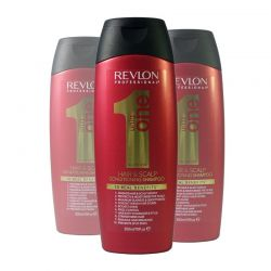 Lot - 3 Shampooings conditioner Revlon Uniq One - 300 ml
