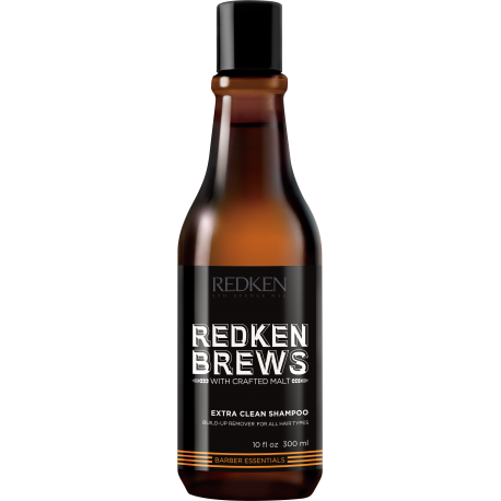 Extra Clean Shampoo (Shampooing Ultra Nettoyant) - REDKEN BREWS - 300 ml
