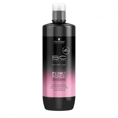 Shampooing fortifiant Schwarzkopf BC Fibre Force - 1000 ml
