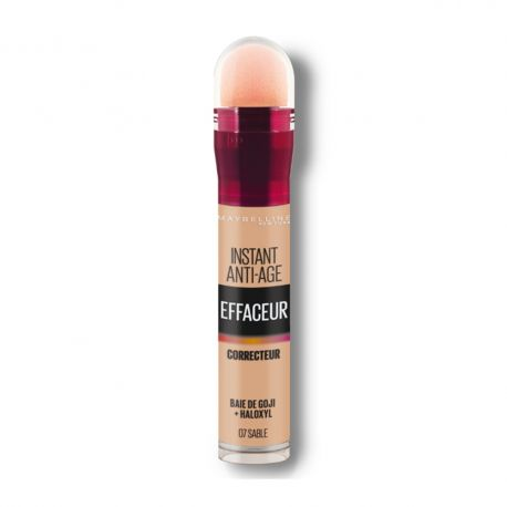 Correcteur Anti-Cernes Instant Anti Age - 07 Sable - Maybelline New York