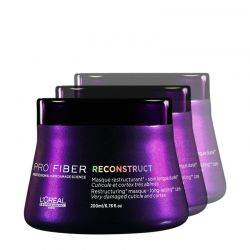 Lot - 3 Masques Pro Fiber Reconstruct - 3 x 200 ml