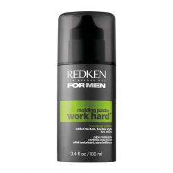 Pate malleable Redken Work Hard For Men - 100 ml