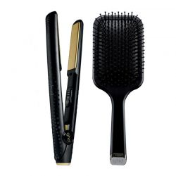 Coffert GHD Styler Gold Classique + Brosse Paddle