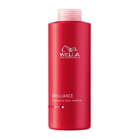 Conditioner Wella Brilliance - Cheveux Epais - 1000 ml