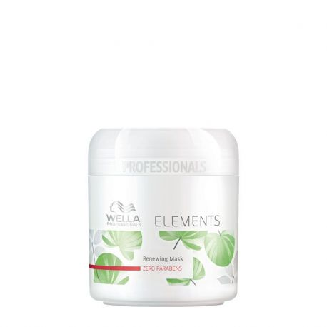 Masque Wella Elements - 150 ml