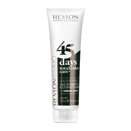 Shampooing conditioner Revlon Radiant Darks - 275 ml