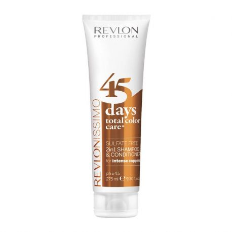 Shampooing conditioner Revlon Intense Coppers - 275 ml