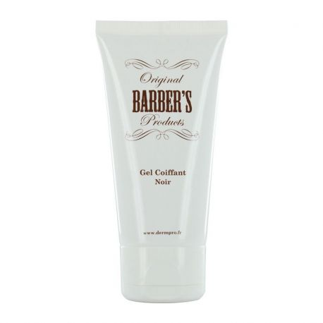 Gel Coiffant Original Barber's - Noir - 50ml
