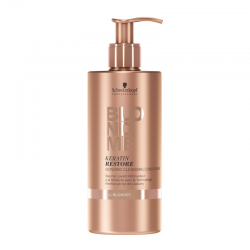Baume lavant Schwarzkopf Bonding All Blondes rénovateur à la Kératine - 500 ml