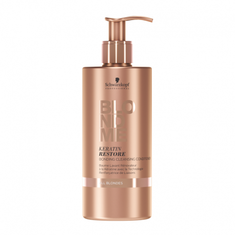 Conditioner Schwarzkopf Blond Me Bonding rénovateur à la Kératine - 500 ml