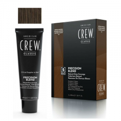 Nuanceur de cheveux blancs American Crew Precision Blend Naturel Moyen - 3 x 40 ml