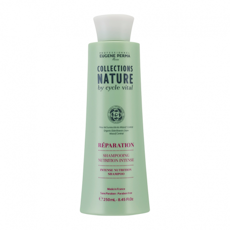 Shampooing Eugene Perma Collections Nature by Cycle Vital Nutrition Intense - Réparation - 250 ml