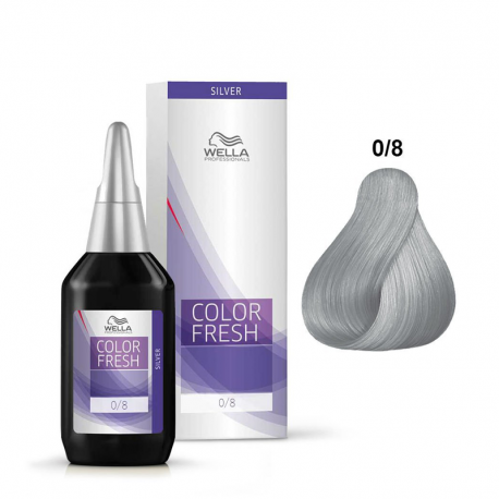 Coloration temporaire Wella Color Fresh 0/8 Perlé - 75 ml