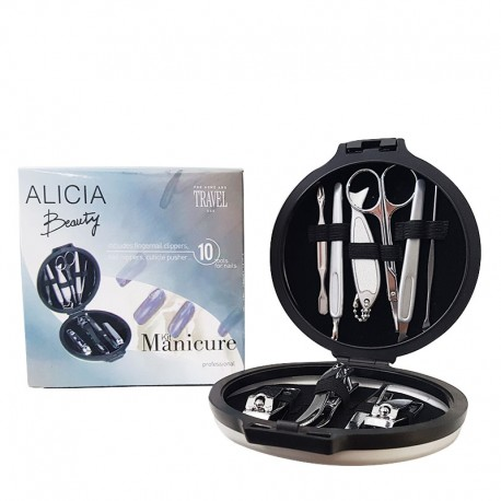 Trousse Manucure Alicia Beauty - 10 outils