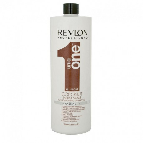 Shampooing conditioner Revlon Uniq One Coconut - 1000 ml