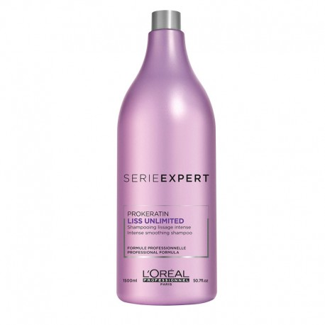Shampooing L'Oréal Liss Unlimited - 1500 ml