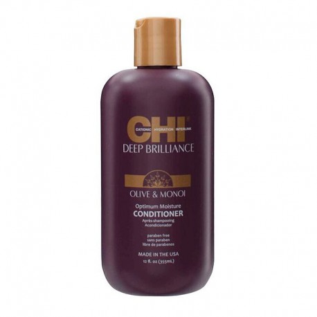 Shampooing Chi Deep Brilliance Olive & Monoï Optimum Moisture - 355 ml
