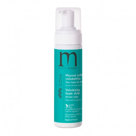 Mousse coiffante Mulato Icone volumatrice - 150 ml