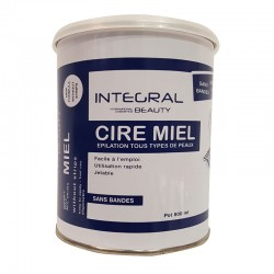 Cire miel Integral Beauty sans bandes - 800 ml