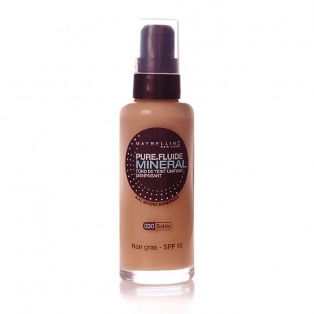 Fond de Teint PURE MAKE UP MINERAL - Maybelline 30 ml