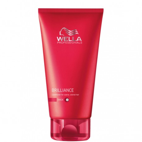 Conditioner Wella Brilliance - Cheveux Epais - 200 ml