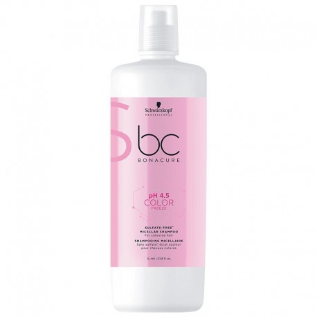 Shampooing Schwarzkopf sans sulfate Color Freeze - 1000 ml